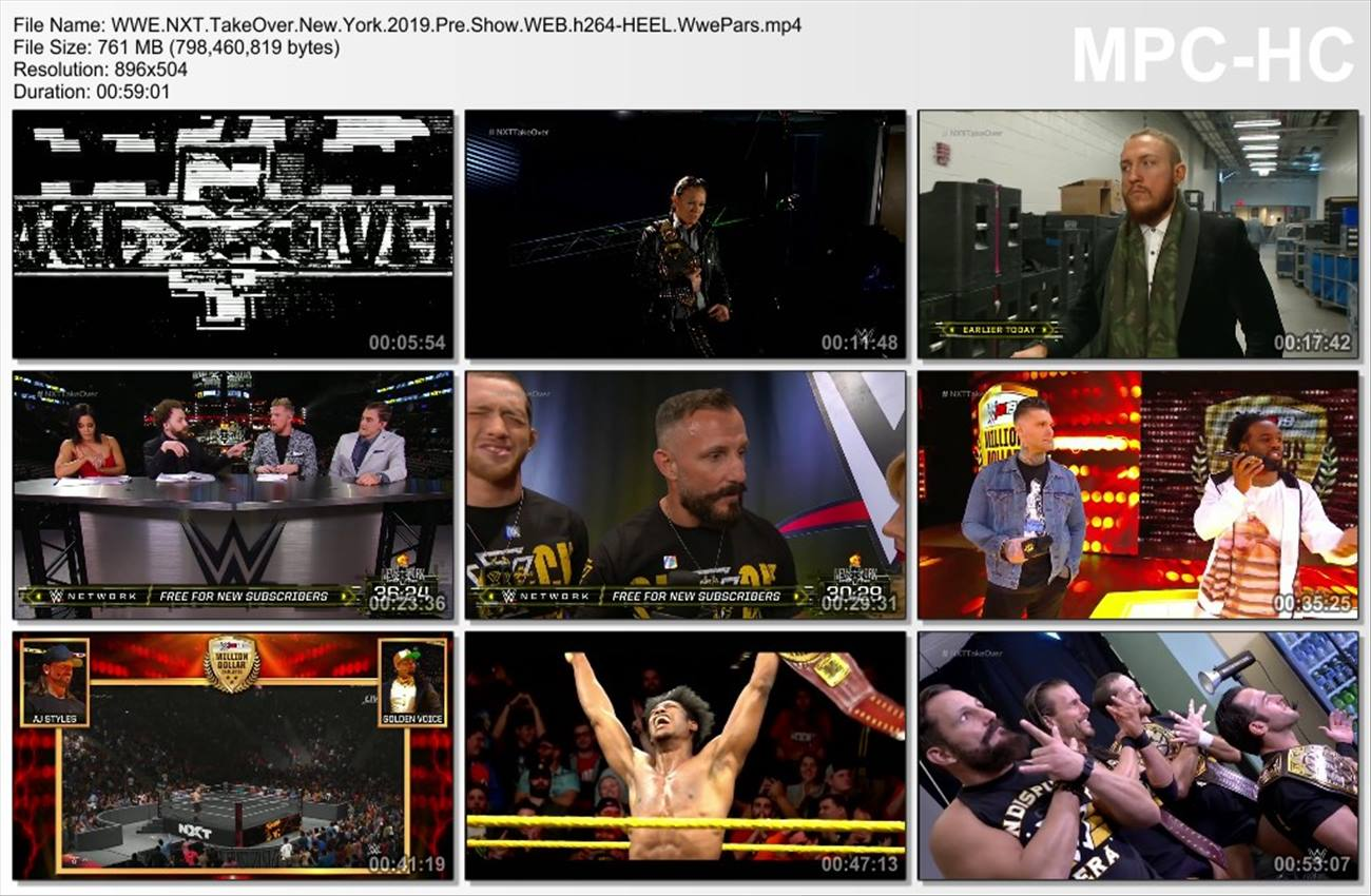 WWE NXT TakeOver New York 2019